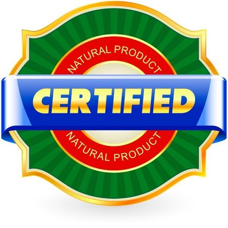 Certified   illustration Stock Vector - 17417785
