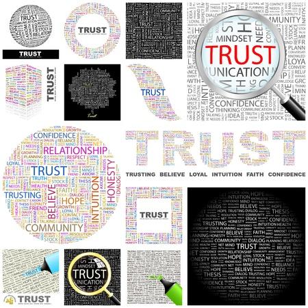 asociacion: Word collage GRAN COLECCIÓN DE CONFIANZA