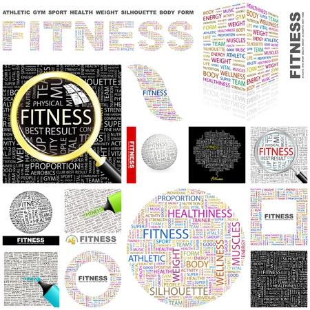 healthiness: Word collage GRAN COLECCI�N DE APTITUD