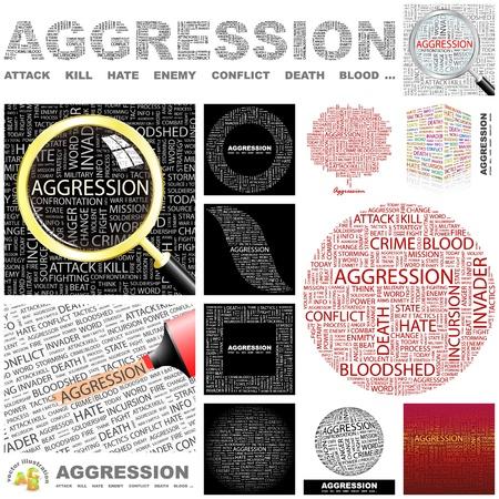 bloodshed: AGRESI�N. Palabra collage. Gran colecci�n.