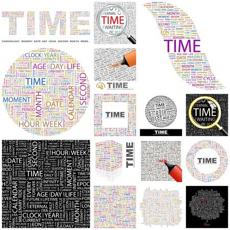 long term: MOMENTO. Palabra collage. Gran colecci�n.