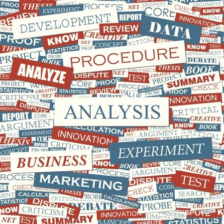argumentation: ANALYSIS  Seamless vector pattern