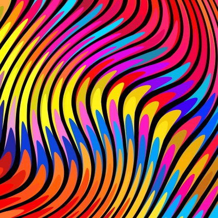 rainbow print: Colorful abstract background