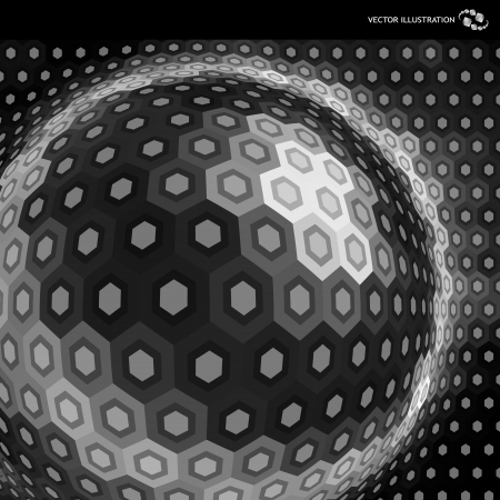 nano: Vector abstract background  Illustration
