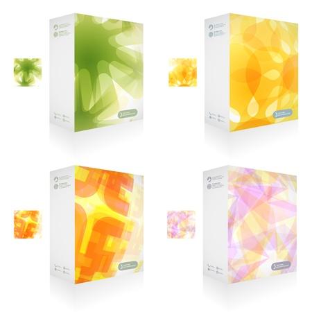 Vector packaging box  Abstract illustration Stock Vector - 15176553