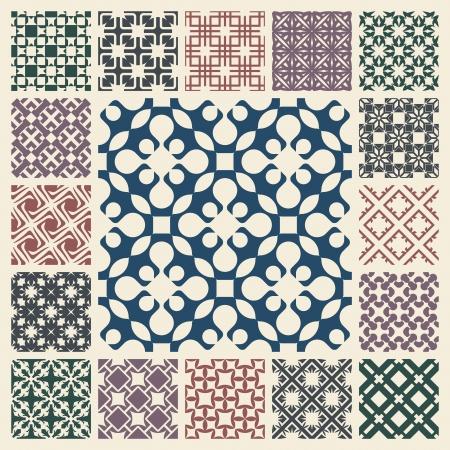 Seamless patrón de fondo abstracto del vector