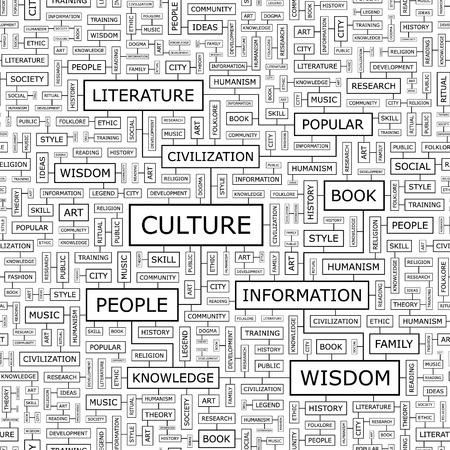 humanisme: CULTURE mod�le sans soudure Illustration