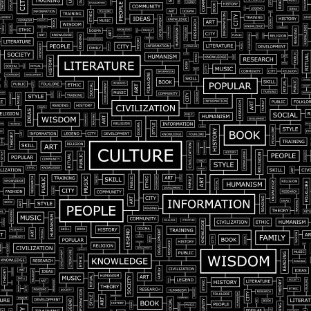 humanismo: CULTURA vector patrón Seamless Vectores