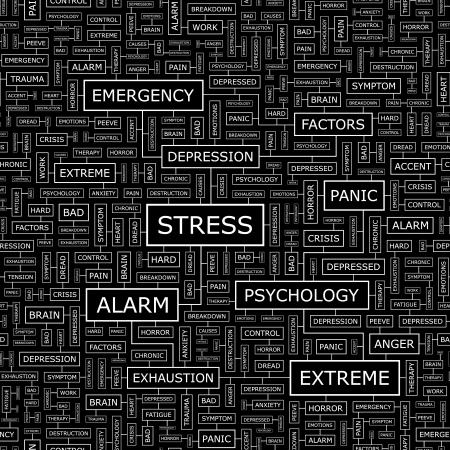 ストレス シームレスなベクター パターン