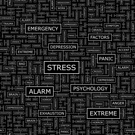 STRESS  Seamless vector pattern Stock Vector - 16456974