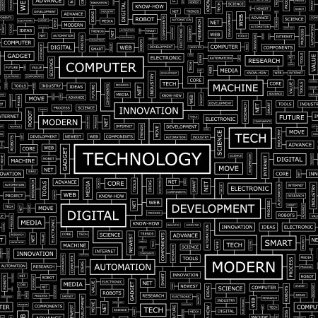 know how: TECHNOLOGY  Seamless pattern