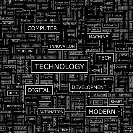 business continuity: TECHNOLOGY  Seamless pattern