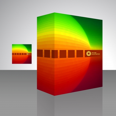 Vector packaging box Stock Vector - 16455230