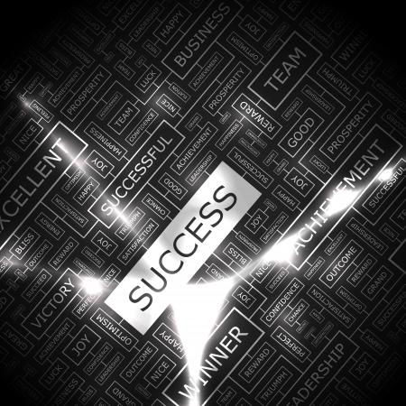 attainment: SUCCESS  Word collage