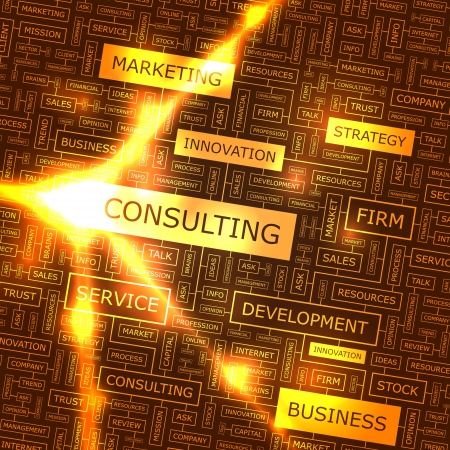corporate consulting: CONSULTOR�A collage Palabra