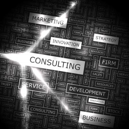 財源: 単語のコラージュをコンサルティング