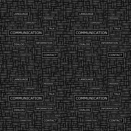 COMMUNICATION  Seamless pattern Stock Vector - 16512377