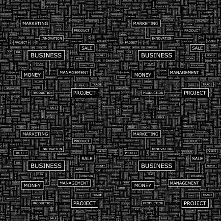 BUSINESS  Seamless vector pattern Vector