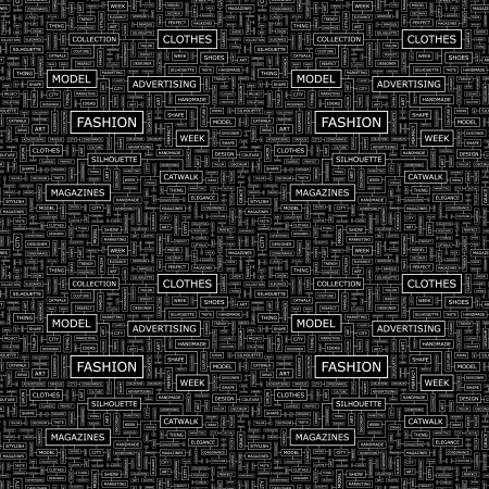 FASHION  Seamless vector pattern Vector