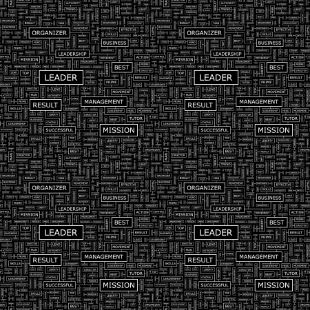 continuity: LEADER  Seamless vector pattern