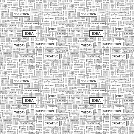 IDEA  Seamless vector pattern Vector