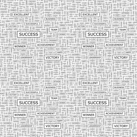SUCCESS  Seamless vector pattern Stock Vector - 16455256