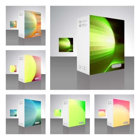 Vector packaging box Stock Vector - 16455268