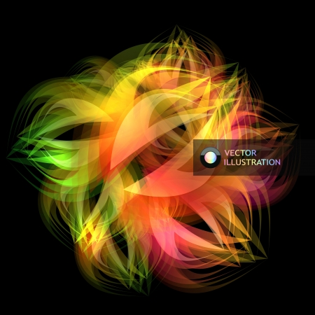 Abstract colorful background Stock Vector - 15339353