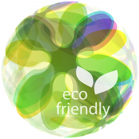 recycle symbol: ECO FRIENDLY