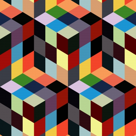 color swatch: Seamless mosaic pattern