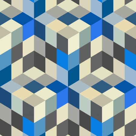 pixel art: Abstract mosaic background  Illustration