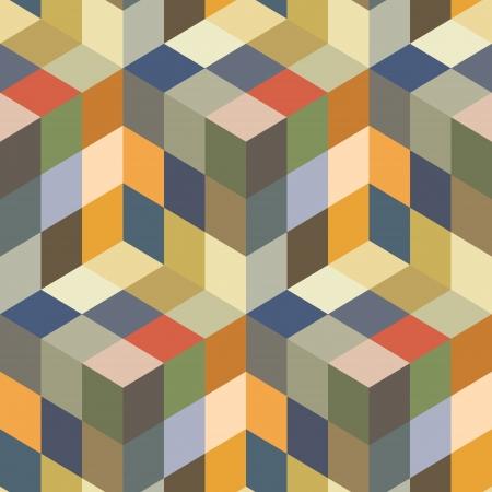 Seamless mosaic pattern Stock Vector - 16479942