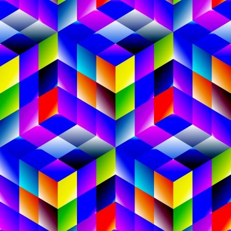 Seamless abstract background Vektorové ilustrace