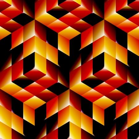 magic box: Seamless pattern