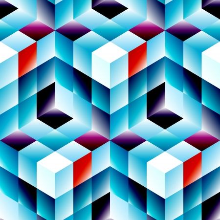 repeat structure: Seamless mosaic pattern