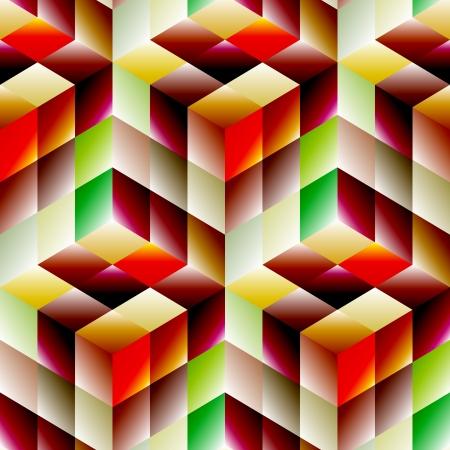 Seamless mosaic pattern Stock Vector - 19993678