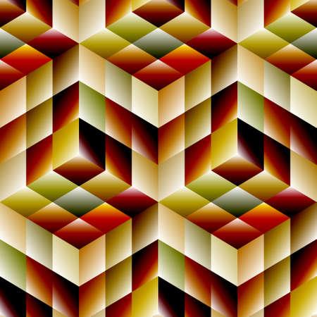 SEAMLESS mosaic pattern Stock Vector - 23638222