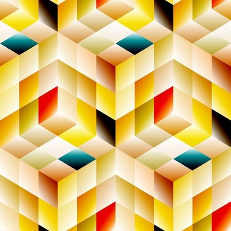 Seamless mosaic pattern Stock Vector - 19993685