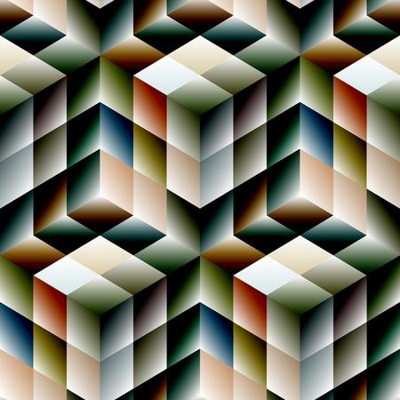 Seamless mosaic pattern Stock Vector - 19992310