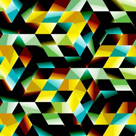 mineral stone: SEAMLESS mosaic pattern Illustration