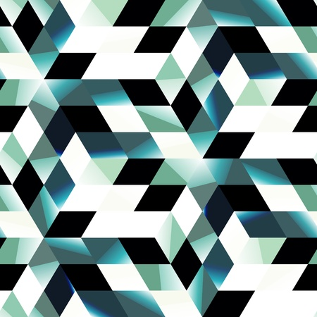 simple geometry: Seamless abstract pattern  Illustration