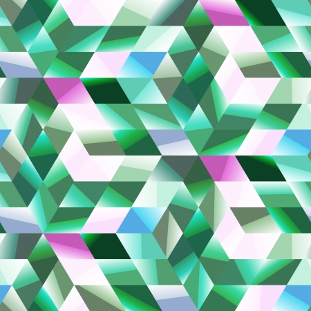precious stone: Seamless abstract pattern