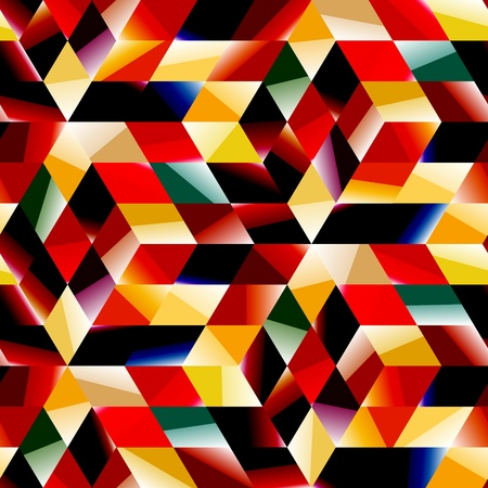 Seamless abstract pattern Stock Vector - 16630056