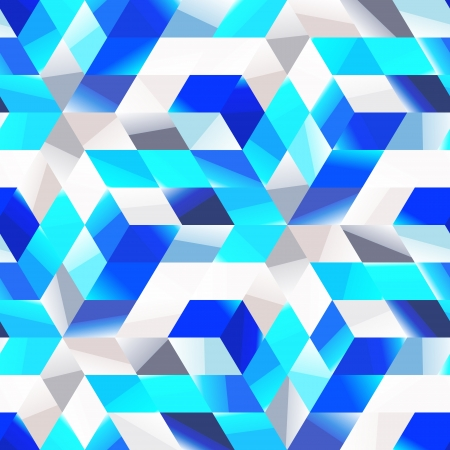 different shapes: Seamless pattern