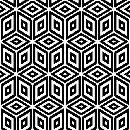 symmetric: Seamless pattern  Abstract background  Illustration