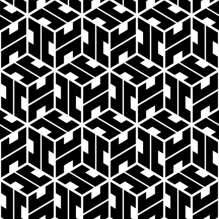 symmetry: Seamless abstract pattern