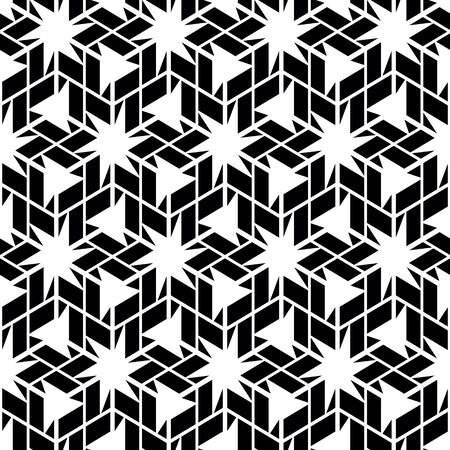 symmetrical design: Seamless abstract pattern