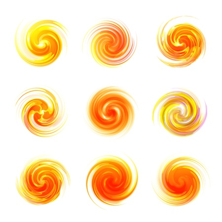 Sunny abstract illustration Stock Vector - 16496565