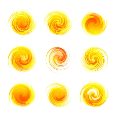 Sunny abstract illustration  Vector