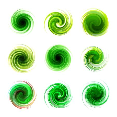 Swirl elements Stock Vector - 16707288